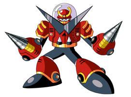 Mega Man TT's Metren Lagann by JusteDesserts