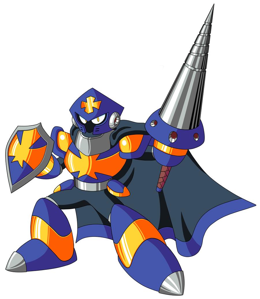 Mega Man TT's Templar Man WO Mount by JusteDesserts