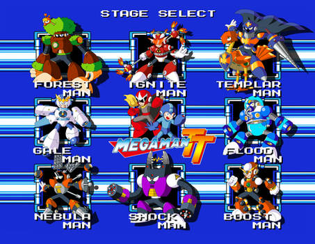 Mega Man TT's Robot Masters