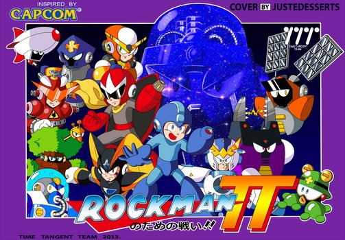 Mega Man Time Tangent Famicom Cover
