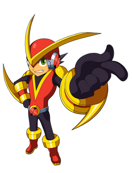 Mega Man BN Chrono X's Quick X Me.M.E.N.T.O