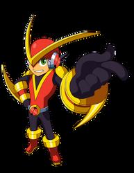 Mega Man BN Chrono X's Quick X Me.M.E.N.T.O by JusteDesserts