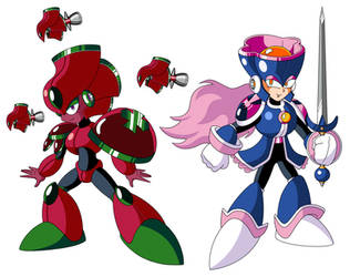 Mega Man TT's Rose Women
