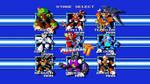 Mega Man TT Stage Select Wallpaper