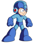 HD Mega Man Sprite