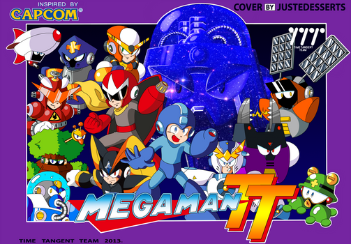 Mega Man Time Tangent Famicom Cover alt