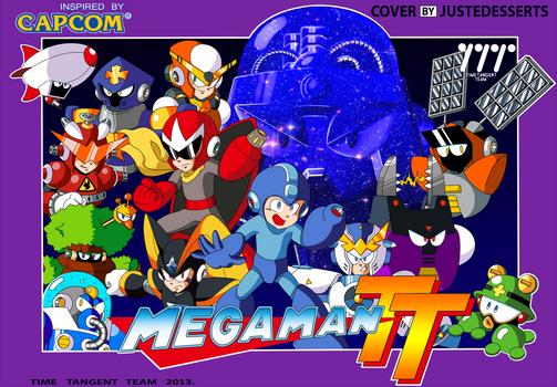 Mega Man Time Tangent Famicom Cover alt
