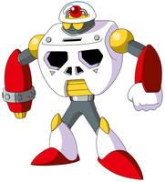 Mega Man TT's Doc Robot Mark 2 by JusteDesserts