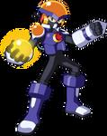 Fanart of Mega Man Chrono X's Flash X Me.M.E.N.T.O