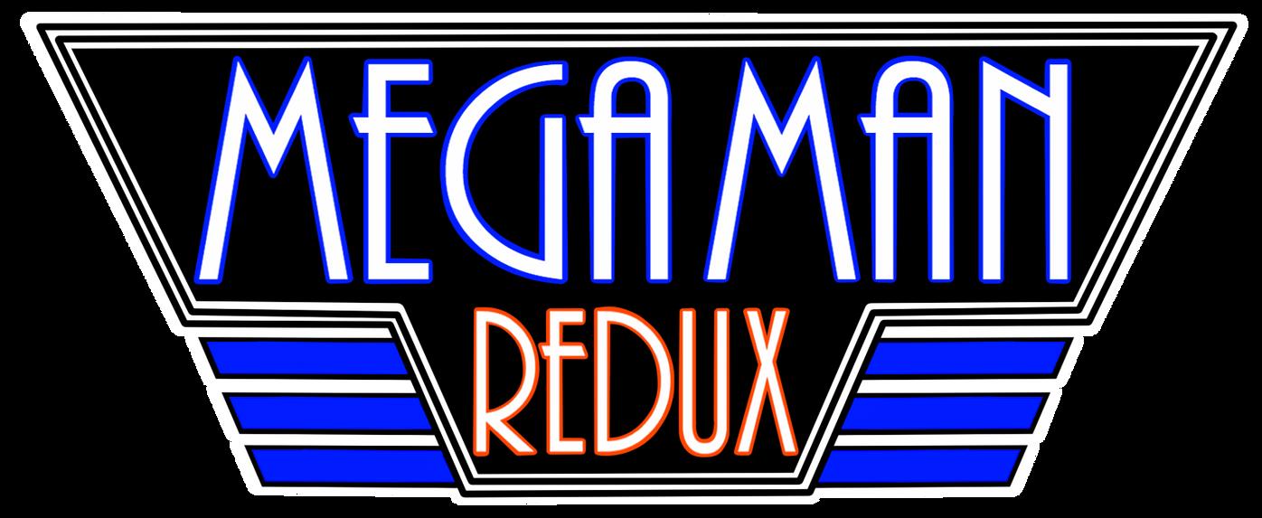 Mega Man Redux Logo by JusteDesserts on DeviantArt