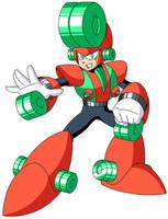Mega Man Unlimited's Yo-yo Man by JusteDesserts