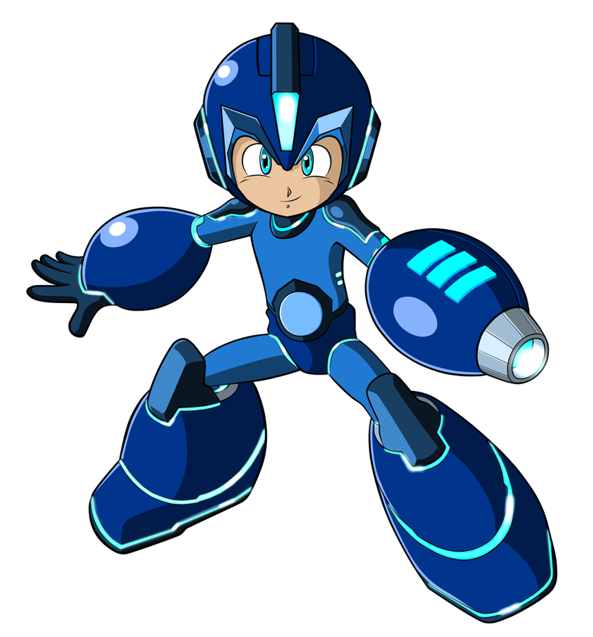 Mega Man 2017 Promo Art Fix by JusteDesserts