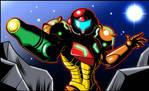 Metroid AM2R intro remake HD