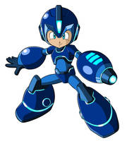 Mega Man Fully Charged Promo Art Fix Update by JusteDesserts