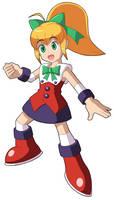 Mega Man 11's Roll alt costume