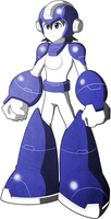 Mega Man Redux Visual Novel Mega Man sprite 1
