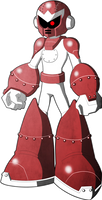 Mega Man Redux Visual Novel Break Man sprite 1 by JusteDesserts