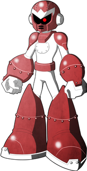 Mega Man Redux Visual Novel Break Man sprite 1