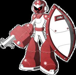 Mega Man Redux Visual Novel Break Man 2 sprite 1
