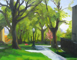 Springtime in Providence by greenfortune