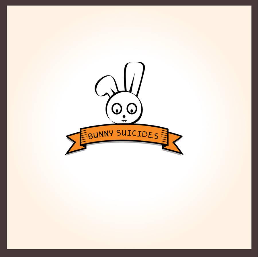 Bunny suicide logo by shilpa84