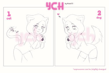 YCH - Nyan! [OPEN 2/2 - SET PRICE $8] by phob00