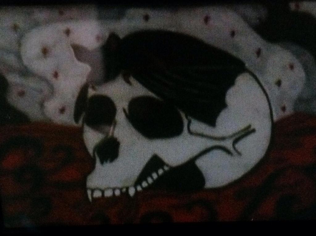 Skull and bat by BASSY101