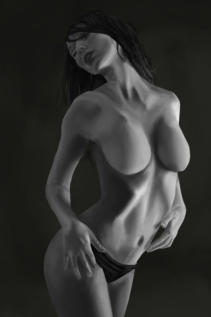 Female anatomy stud 2 by straightx