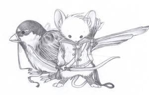 Mouse Guard: Path Finder WIP by MoonRaven2