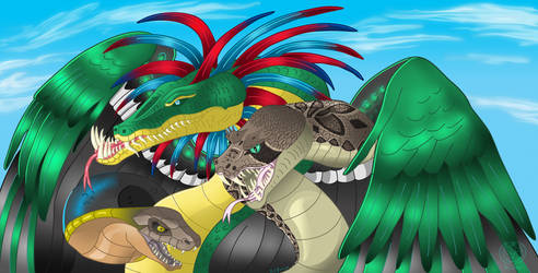 Quetzalcoatl by Thagirion