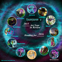 Art Year In Review2015 by Thagirion