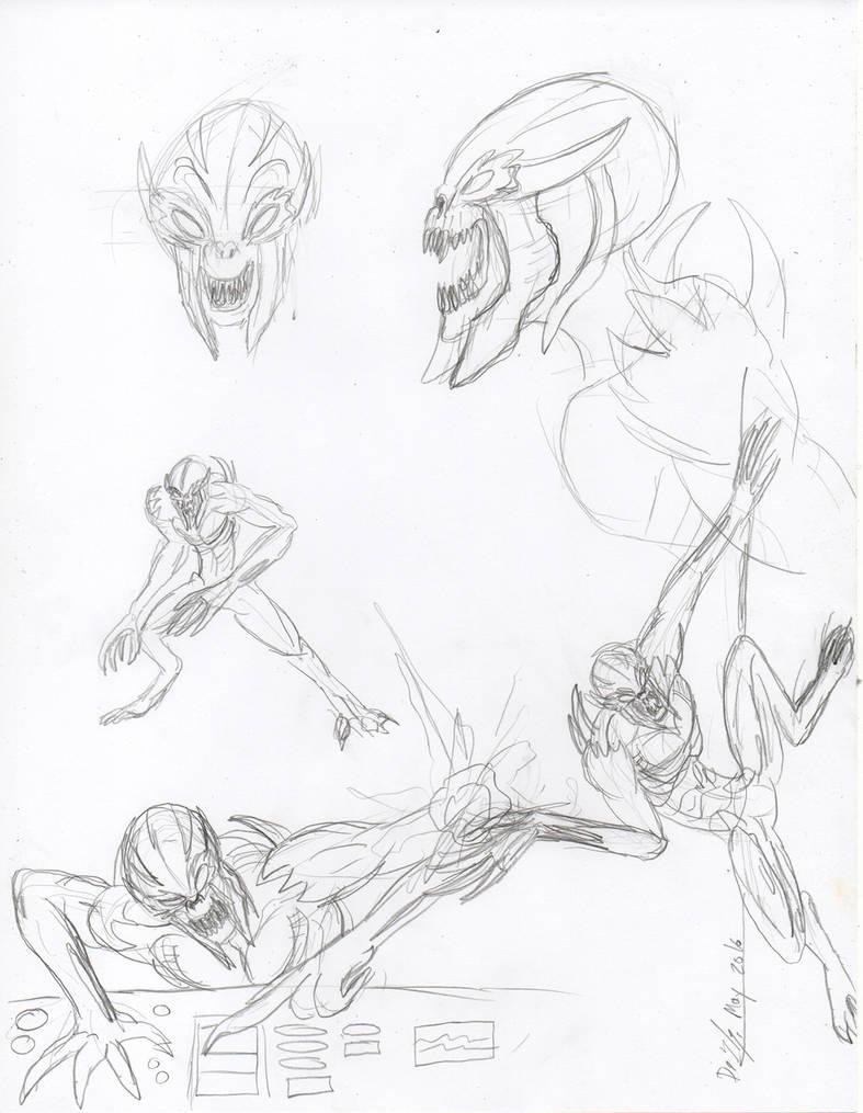 Imp Practice Sketches By Thagirion On Deviantart