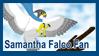 Samantha Falco Fan Stamp by Thagirion