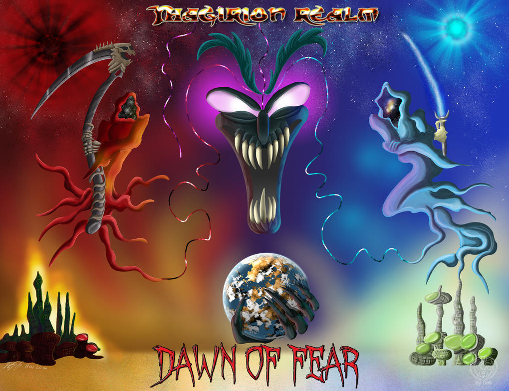 Dawn Of Fear Cover by Thagirion