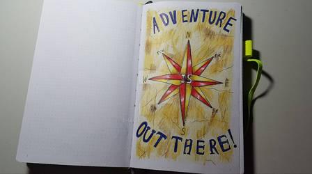 Travel Journal First Page