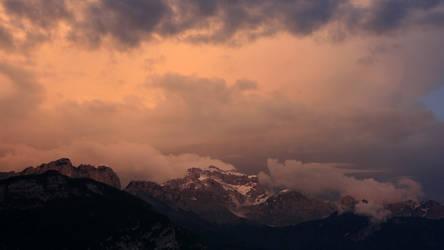 The mountain by guekko