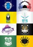 Sinnoh Sports Team logos