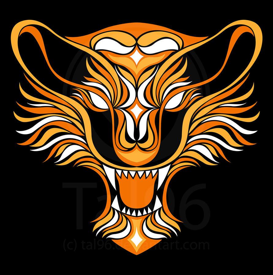 Tribal Tiger By Ruttan On Deviantart: Tribal Tiger By Tal96 On DeviantArt