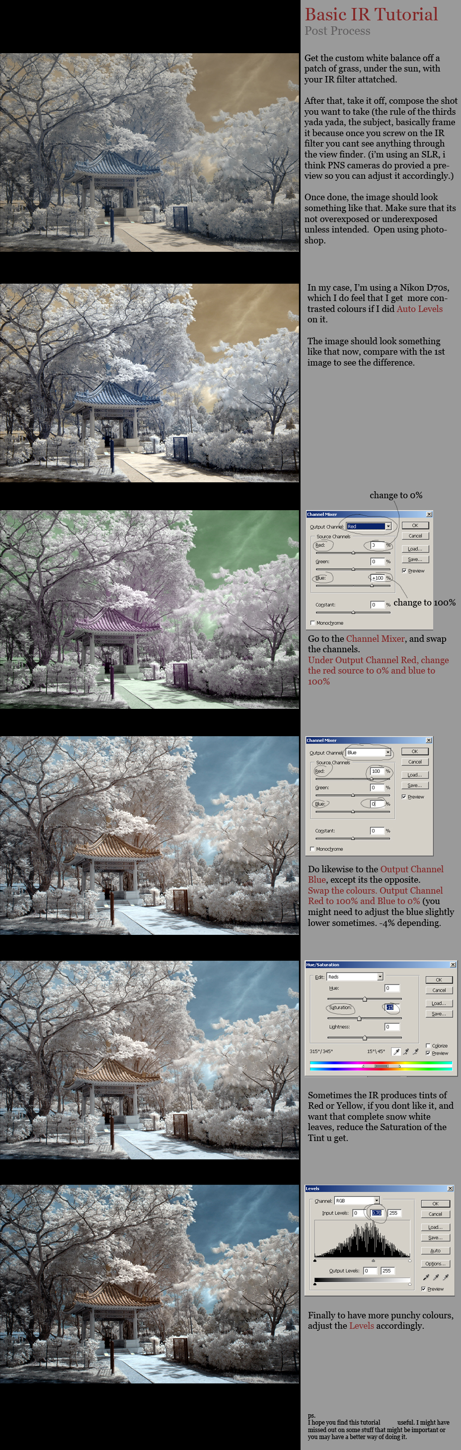 Basic IR Post Process by log1t3ch
