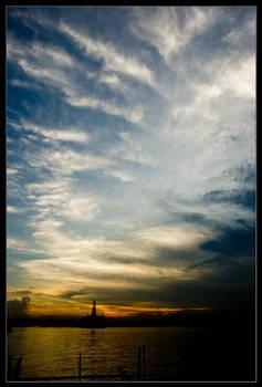 Changi Boardwalk Sunset