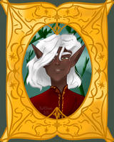 Tyelkormo Portrait (Feanorian Week 2k19) by NatRDraws