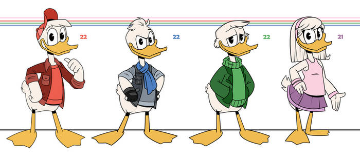 DuckTales: Young Adults