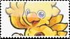 Chocobo stamp, Chrno's present by MaochanHime