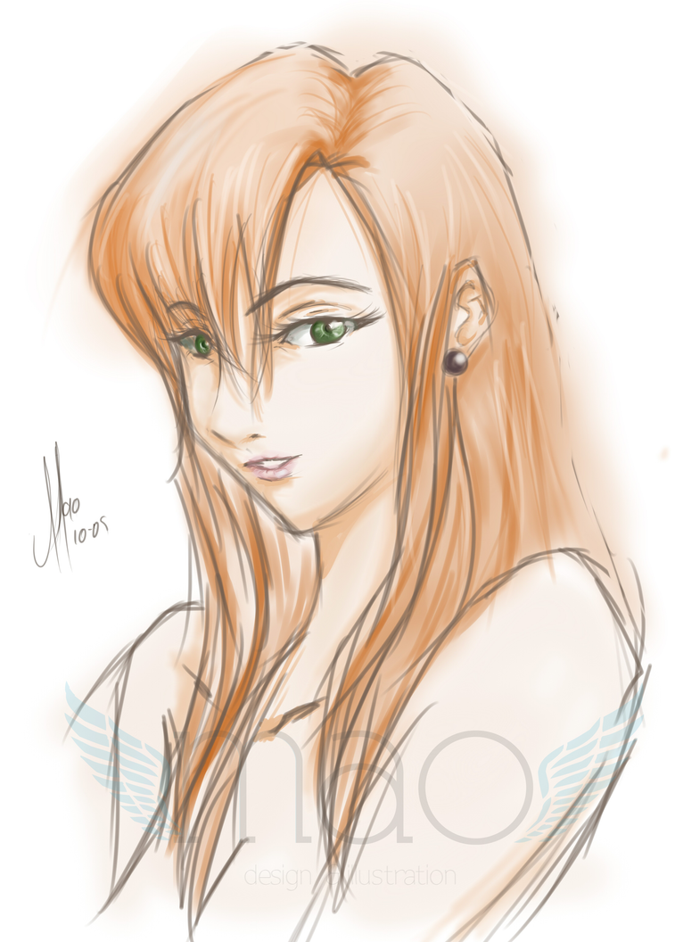 Digital Drawing Test by MaochanHime