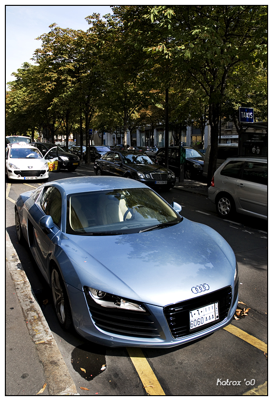 Audi R8 Light BLue by Shibbychibs on DeviantArt