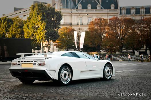 Bugatti EB110 White