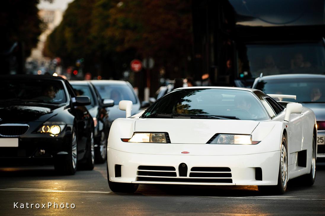 Bugatti Veyron Going Back To The Future Art Promo: Bugatti EB110 White 2 By Shibbychibs On DeviantArt