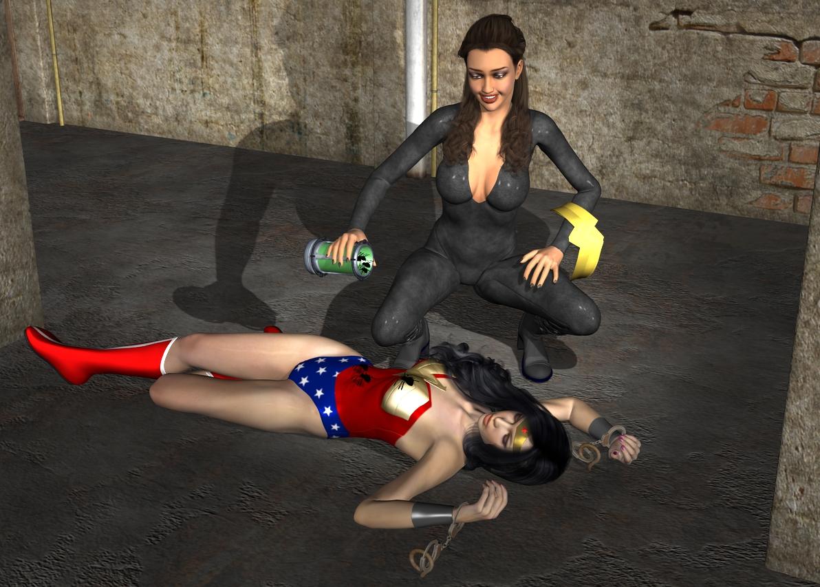 Wonder Woman Defeated Deviantart Wonder woman peril deviantart