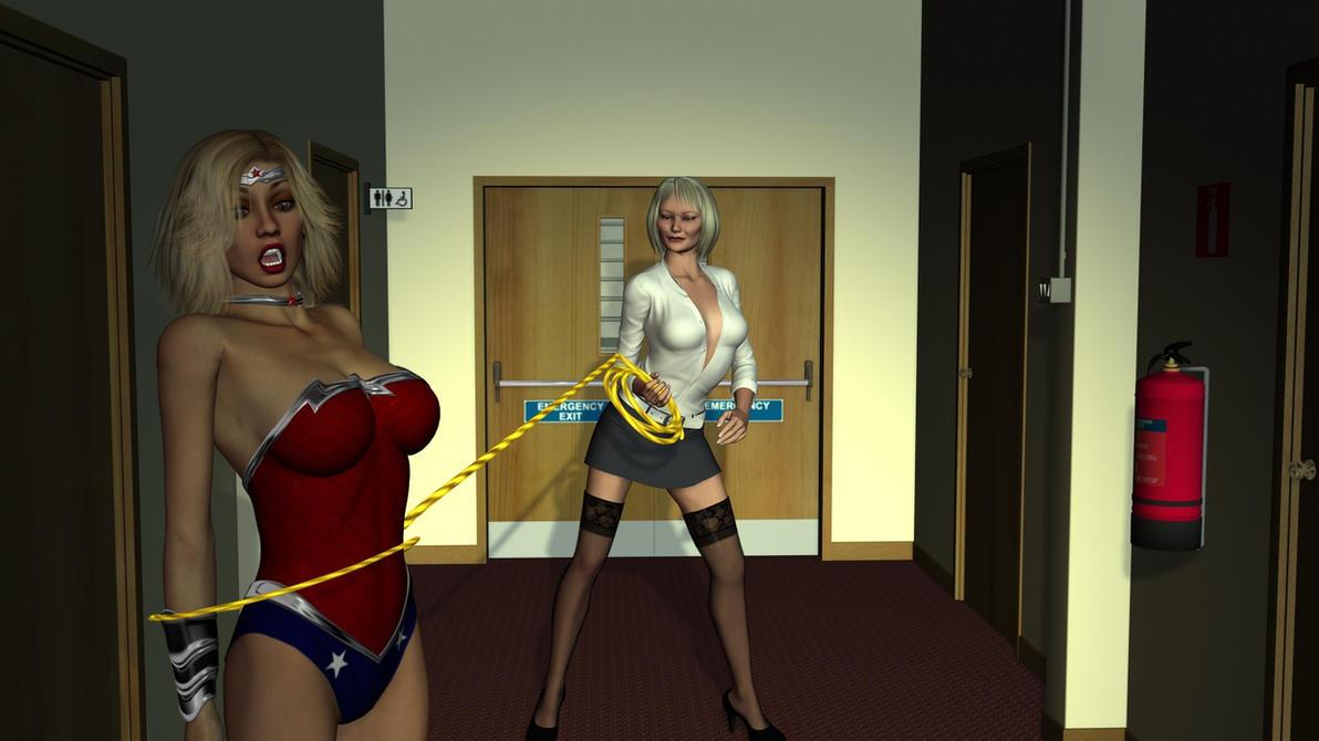 The Perils of New Wonder Woman by Zamboniman on DeviantArt