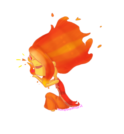 Flame Princess by AChildDrawnToEvil